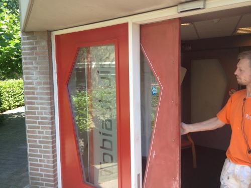 Schilderen deuren en kozijnen Den Haag 14