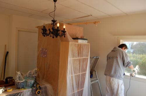 Schilderen, stucen en timmerwerk te Wassenaar 38