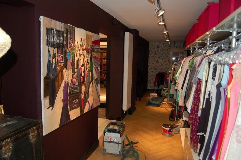 Binnenschilderwerk winkelruimte Zoetermeer 13