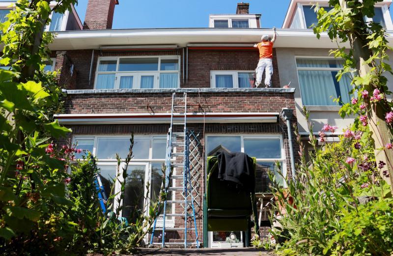 Schilderwerk kozijnen en boeidelen te Voorburg 6