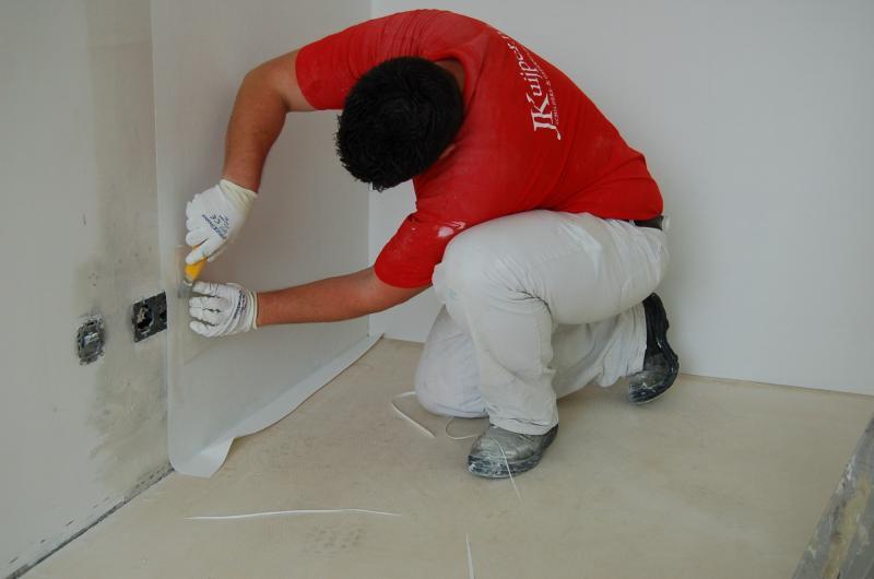 Glasweefselbehang aanbrengen en schilderwerk Den Haag 13