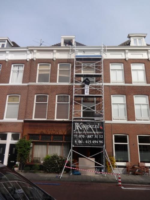 Buitenschilderwerk woning Den Haag 5