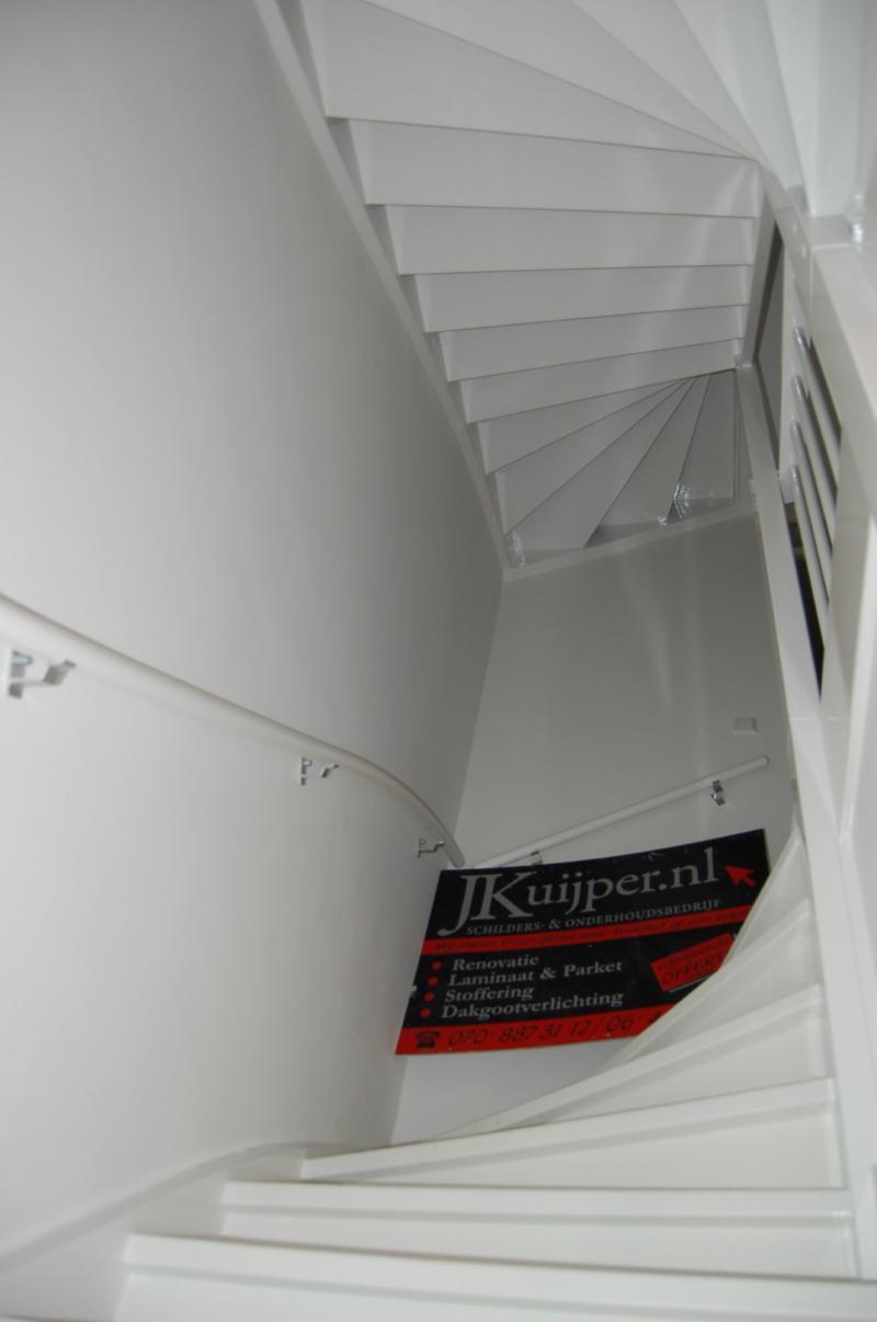 Glasweefselbehang aanbrengen en schilderwerk te Zoetermeer 9
