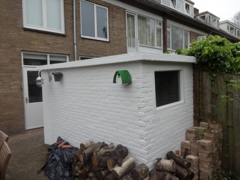 Schilderwerk dakkapel Voorburg 2