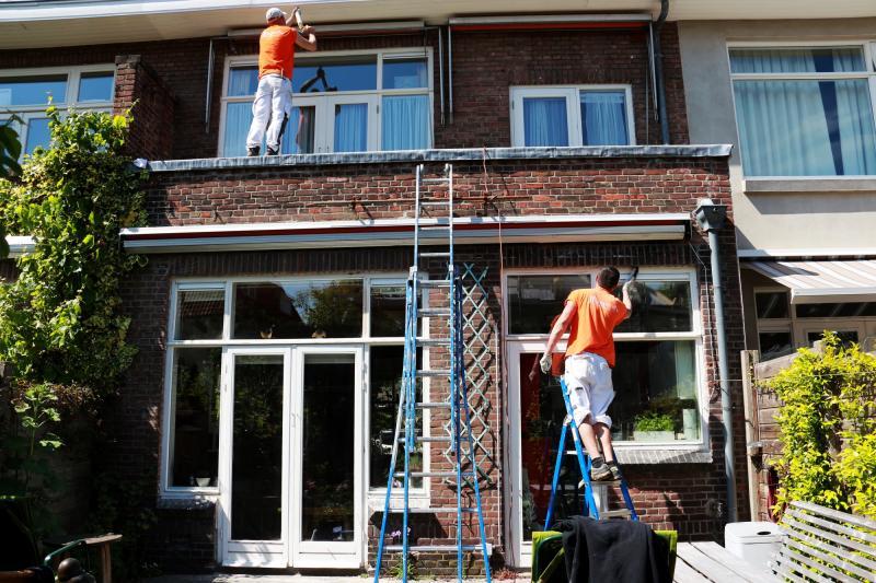 Schilderwerk kozijnen en boeidelen te Voorburg 13