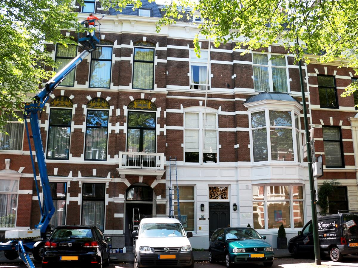 Schilderwerk herenhuis in Den Haag