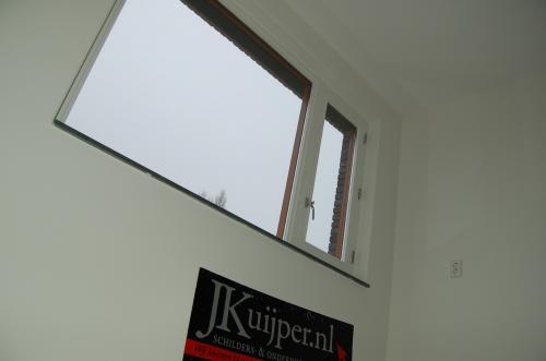 Glasweefselbehang aanbrengen en schilderwerk te Zoetermeer 11