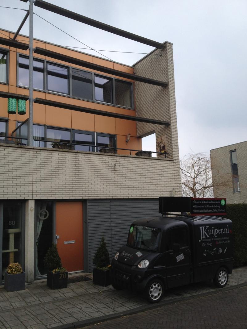Schilderwerk woning Leidschenveen 5