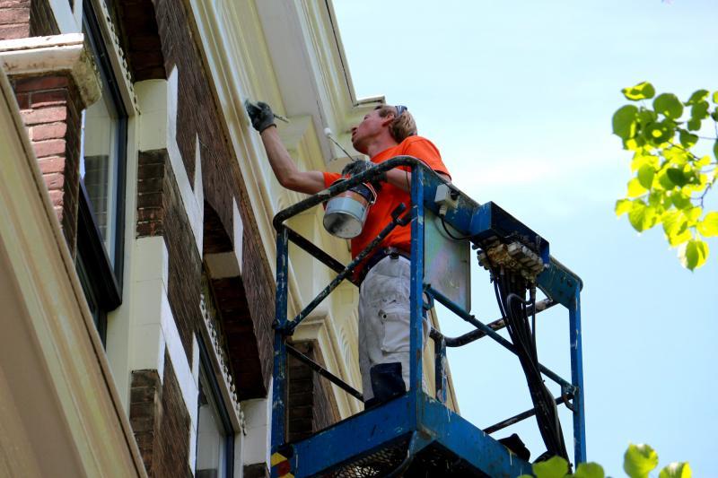Schilderwerk herenhuis in Den Haag 21