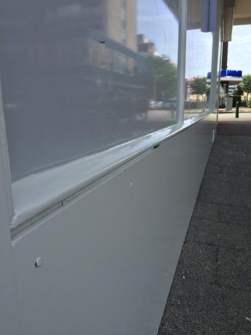 Buitenschilderwerk winkelruimte Den haag 3