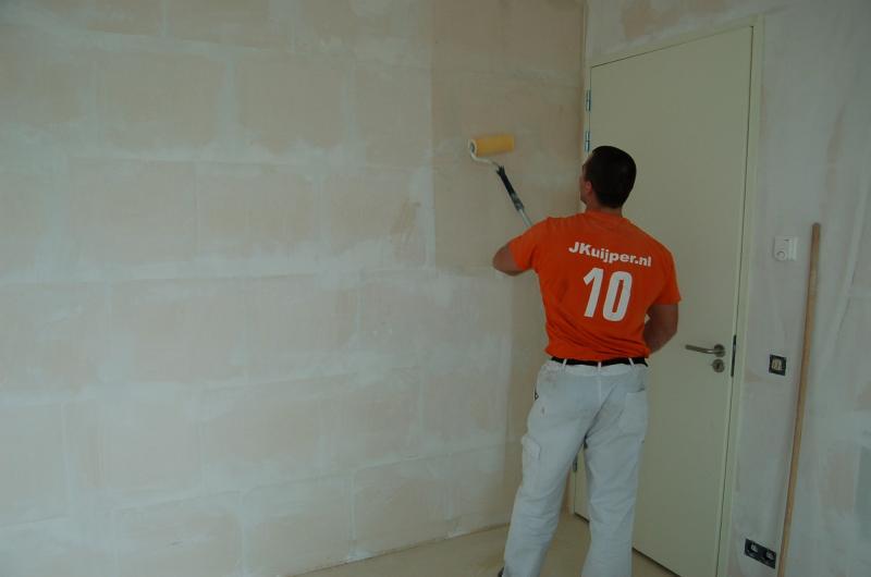 Glasweefselbehang aanbrengen en schilderwerk Den Haag 9