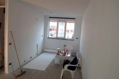 Vliesbehang aanbrengen in woning Den Haag 4