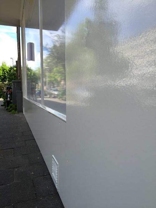 Buitenschilderwerk winkelruimte Den haag 2