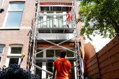 Schilderwerk herenhuis in Den Haag 22