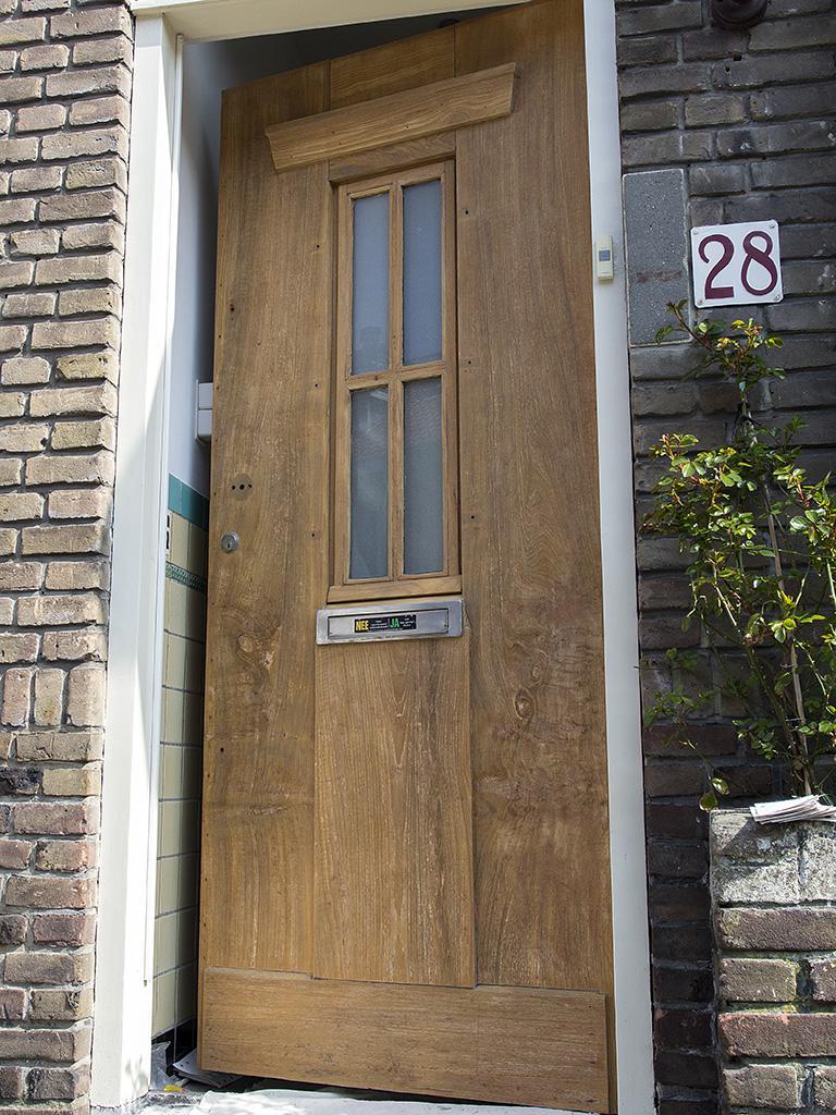 Voordeur lakken Voorburg 4