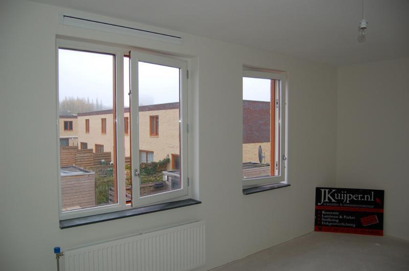 Glasweefselbehang aanbrengen en schilderwerk te Zoetermeer 13