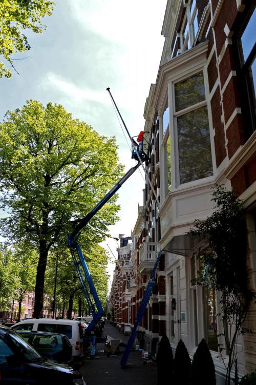 Schilderwerk herenhuis in Den Haag 20