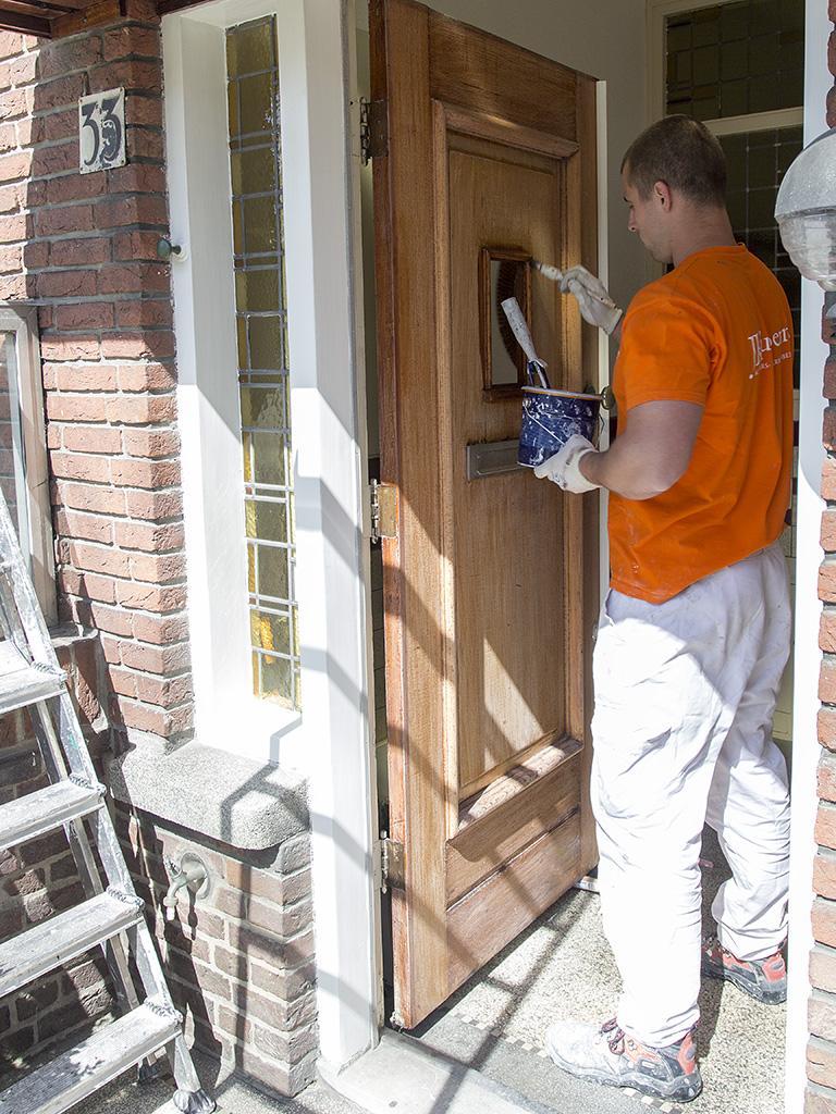 Buitenschilderwerk kozijnen en deuren 6