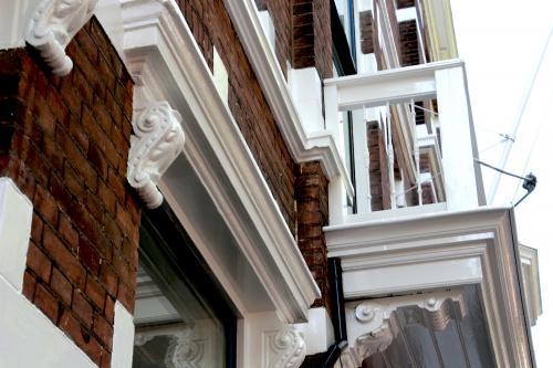 Schilderwerk herenhuis in Den Haag 10
