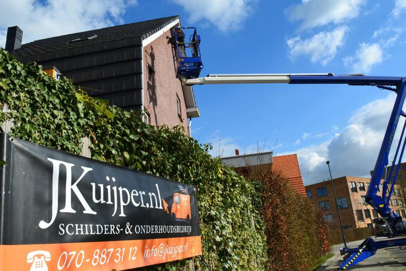 J.Kuijper Schildersbedrijf aan het werk in Zoetermeer