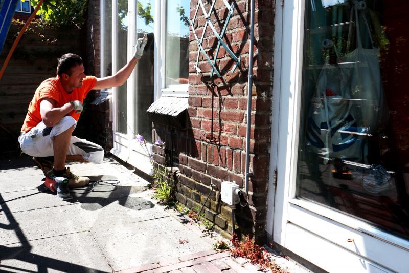 Schilderwerk kozijnen en boeidelen te Voorburg 11
