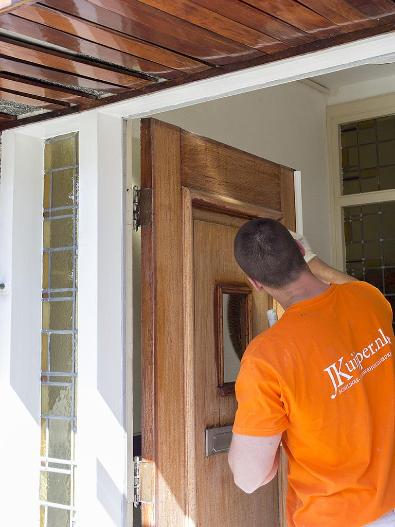 Buitenschilderwerk kozijnen en deuren 5