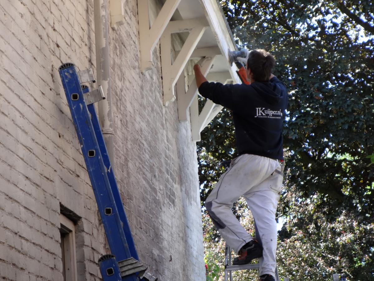 Schilderwerk, timmerwerk en houtrotreparatie