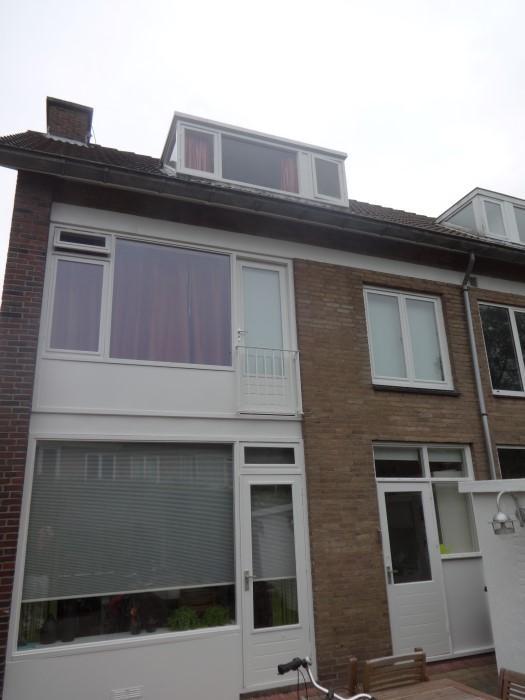 Schilderwerk dakkapel Voorburg 1