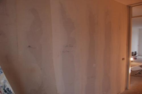 Vliesbehang aanbrengen in woning Den Haag 3