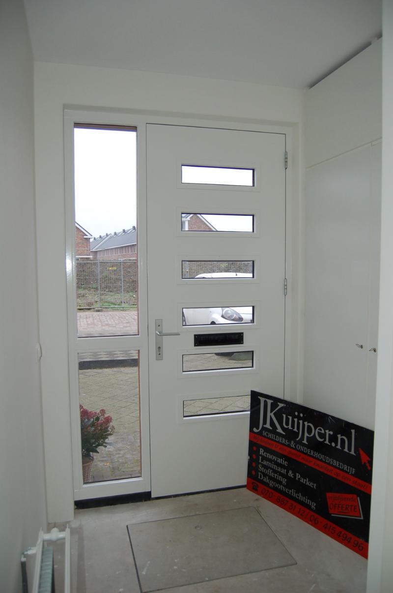 Glasweefselbehang aanbrengen en schilderwerk te Zoetermeer 10