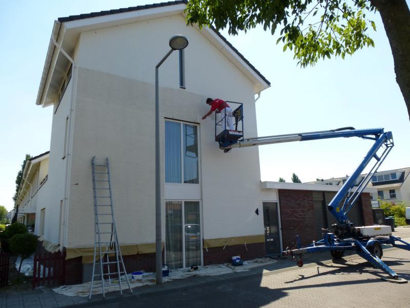 Schilderwerk woning Den Haag 1