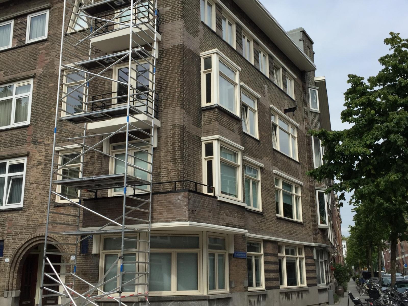 Schildersbedrijf voor VvE te Rotterdam