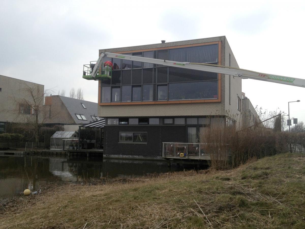 Schilderwerk woning Leidschenveen