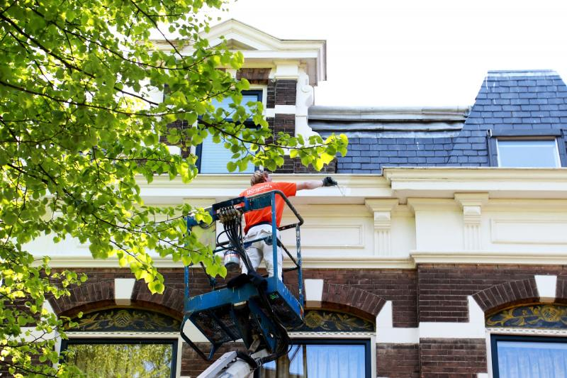 Schilderwerk herenhuis in Den Haag 17