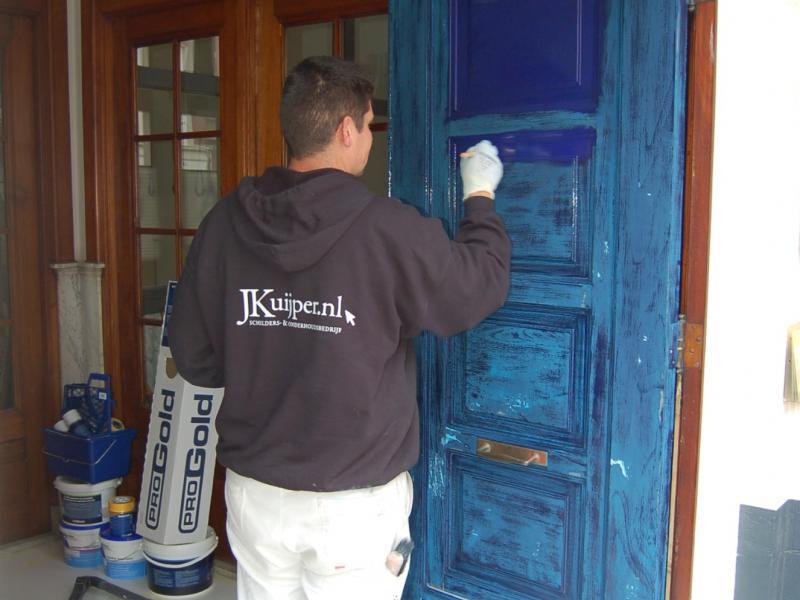 Schilderwerk deuren en kozijnen Den Haag