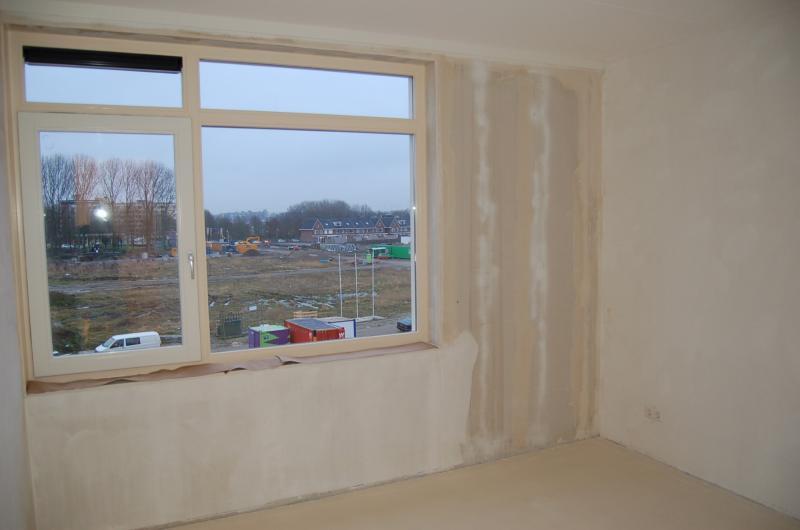 Glasweefselbehang aanbrengen en schilderwerk Den Haag 3