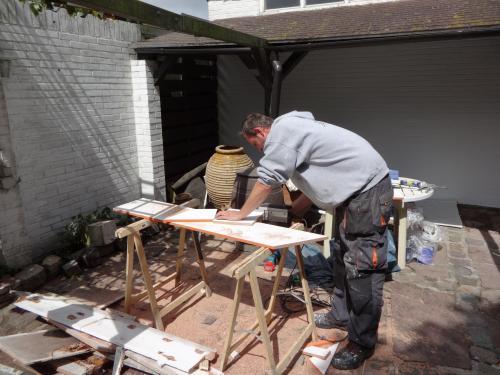 Schilderwerk, timmerwerk en houtrotreparatie 10