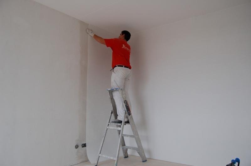 Glasweefselbehang aanbrengen en schilderwerk Den Haag 10