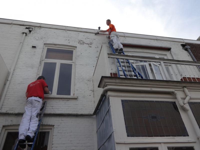 Buitenschilderwerk woning Den Haag 14