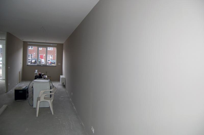 Vliesbehang aanbrengen in woning Den Haag 10