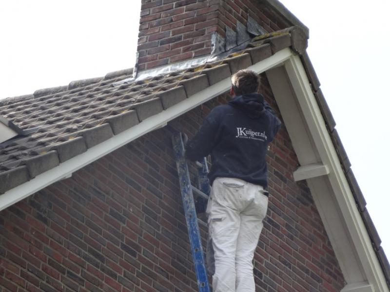 Schilderwerk dakkapel Voorburg