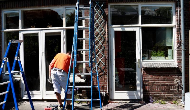 Schilderwerk kozijnen en boeidelen te Voorburg 10